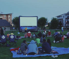 19+ Outdoor Movie Night