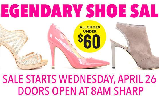 Army \u0026 Navy Legendary Shoe Sale