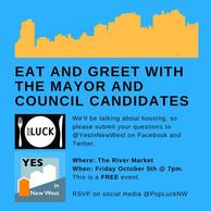 Eat and Greet with the Candidates