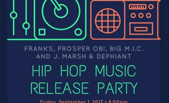 Hip Hop Music Release Party