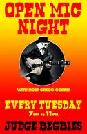 Open Mic Night @ Judge Begbie's Tavern