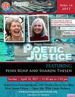 Poetic Justice Featuring Penn Kemp & Sharon Thesen
