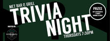Thursday Trivia Nights @ The Met