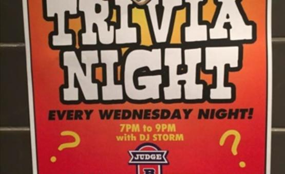 Trivia Night @ Judge Begbie's Tavern