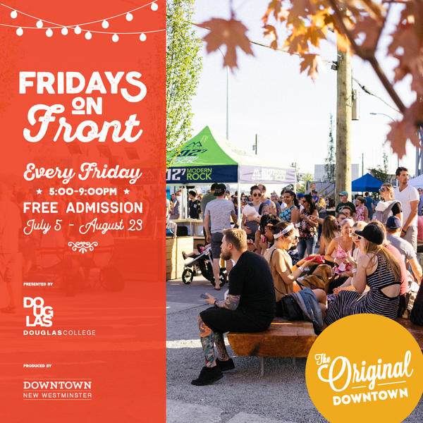 Fridays on Front 2019 | Downtown New Westminster BIA