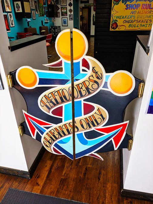 Royal Anchor Tattoo Gate