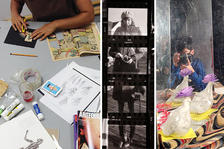 ArtStarts presents Cut, Paste, Action! Family Arts Workshop with Kate Henderson