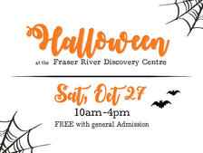 Creepy Crawly Halloween at the FRDC