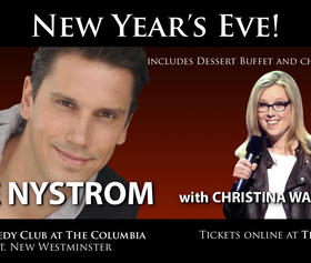 New Year's Eve with Dave Nystrom and Christina Walkinshaw